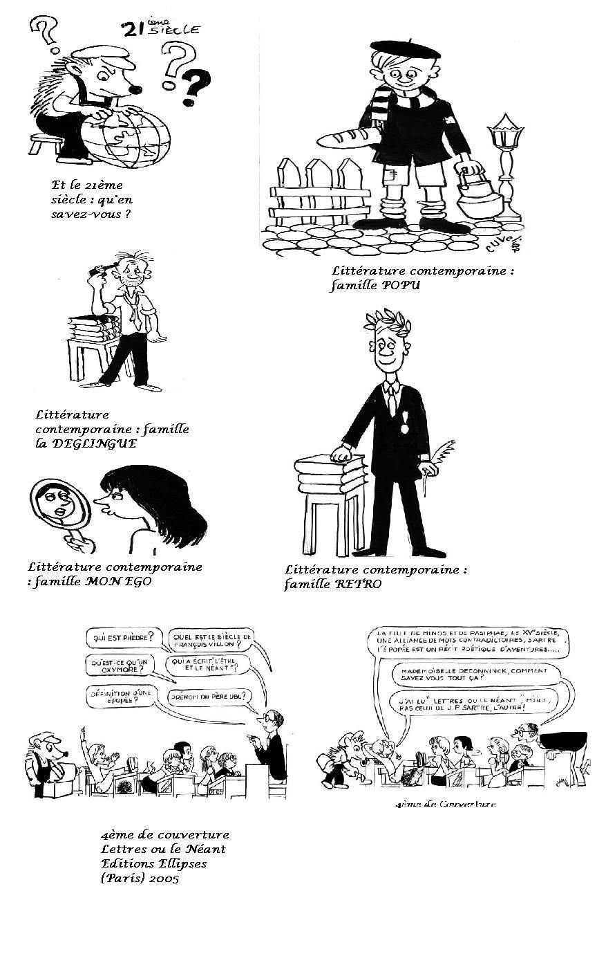 Lettres ou le néant (4ème de couverture)