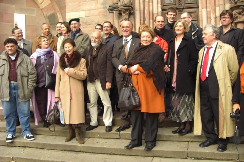 Les auteurs à Strasbourg