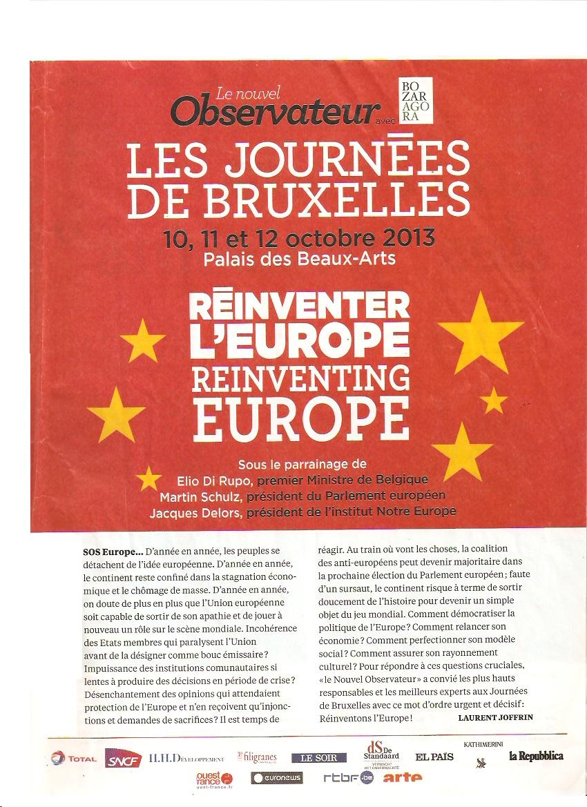Réinventer l'Europe